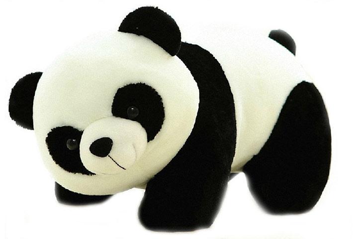 Tickles Stuffed Soft Flush Toy Kids Birthday Black Panda