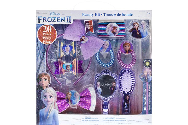 Townley Girl Disney Frozen 2 Hair Accessory Kit for Girls