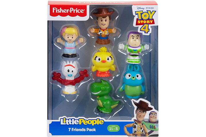 Toy Story Disney 4,7 Friends Pack by Little People