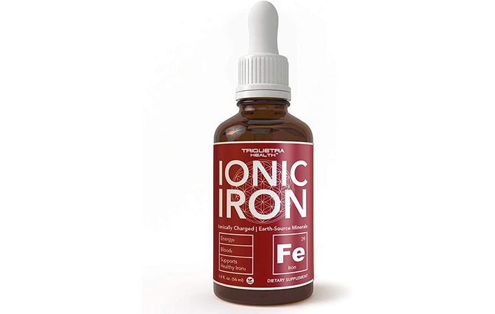 Triquetra Health Ionic Liquid Iron Supplement