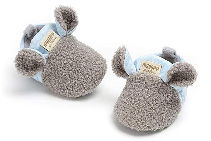 Tuoting Infant Baby Fleece Booties
