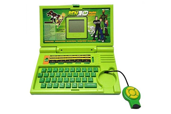 Urban Creation 20 Activities Ben 10 English Laptop for Kids