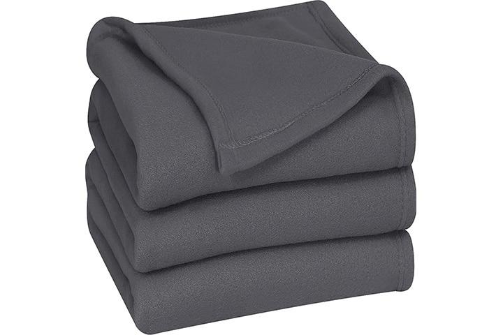 Utopia Bedding Fleece Blanket Queen Size
