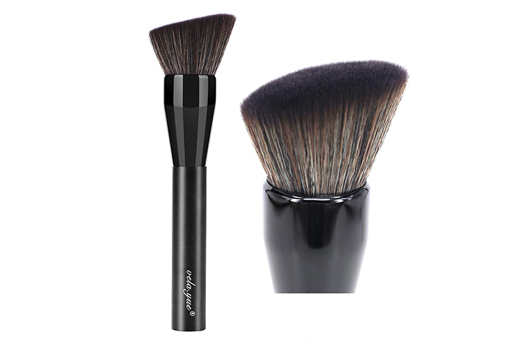Vela.yue Angled Powder Foundation Brush Multifunctional Face Makeup Brush