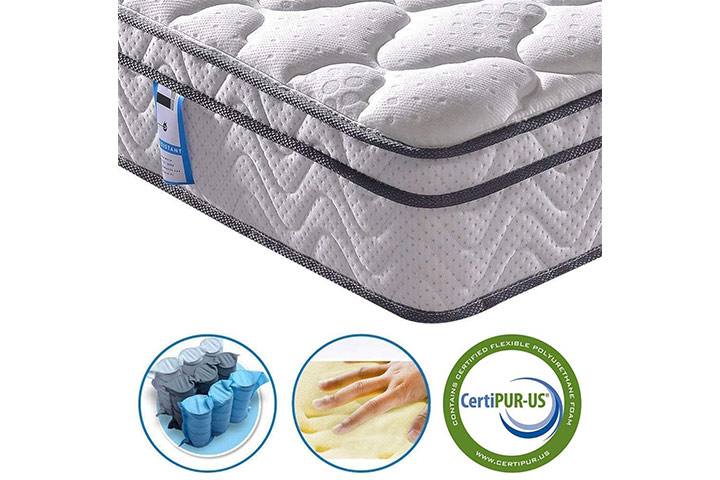 Vesgantti Multilayer Hybrid Mattress