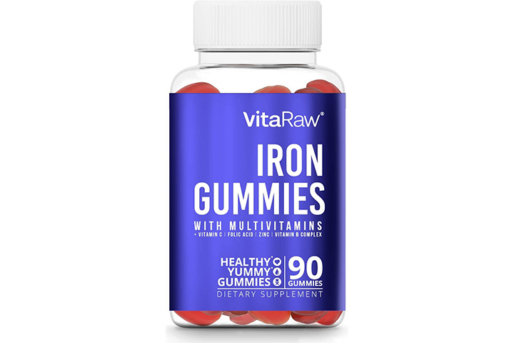 Vita Raw Iron Gummies With Multivitamins