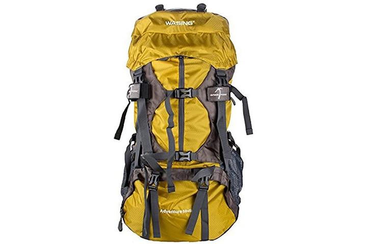 WASING 55l Internal Frame Backpack Hiking