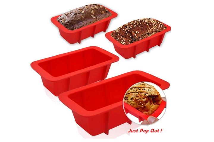 Walfos Mini Loaf Pan Set