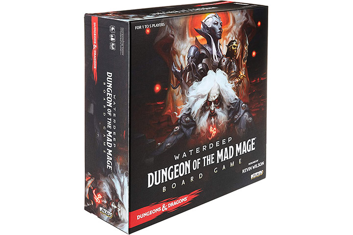 WizKids Dungeon of the Mad Mage Adventure System Board Game