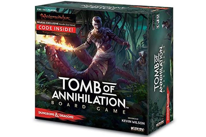 WizKids Tomb of Annihilation Adventure System Board Game