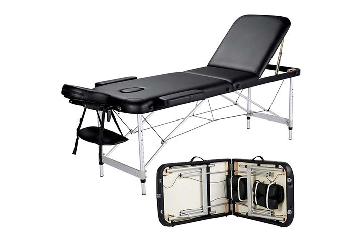 Yaheetech Massage Table Portable Massage Bed
