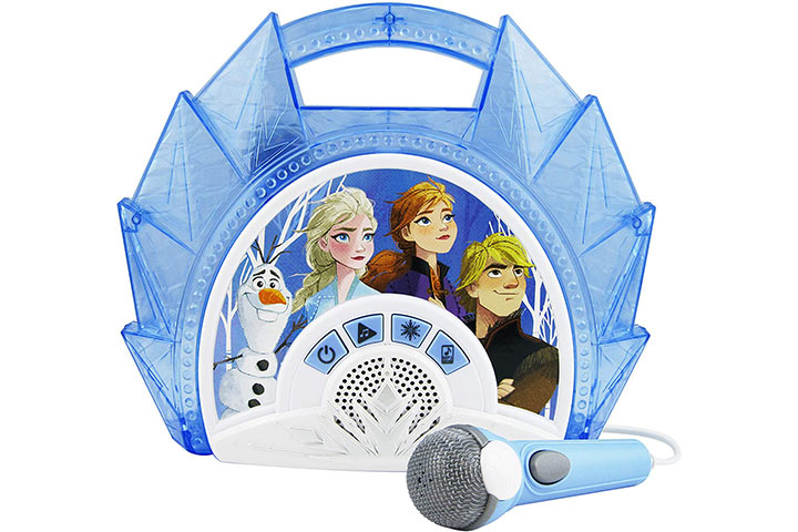 eKids Disney Frozen 2 Sing-Along Boombox With Microphone