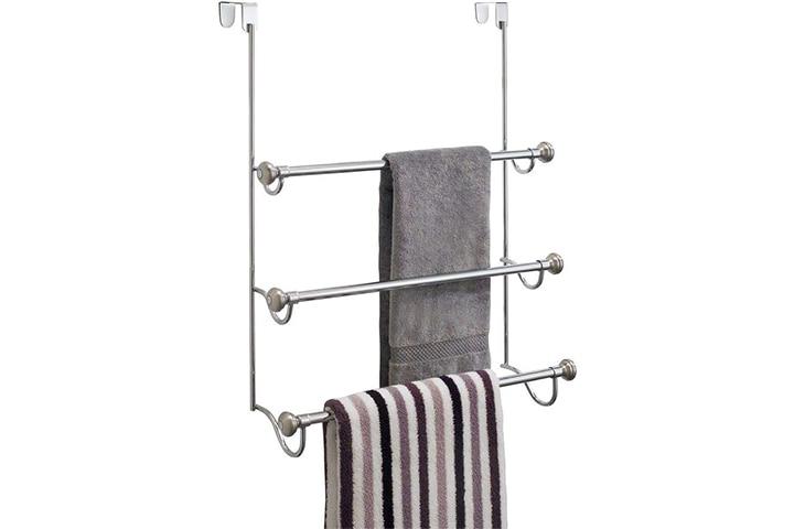 iDesign Over the Door Towel Rack
