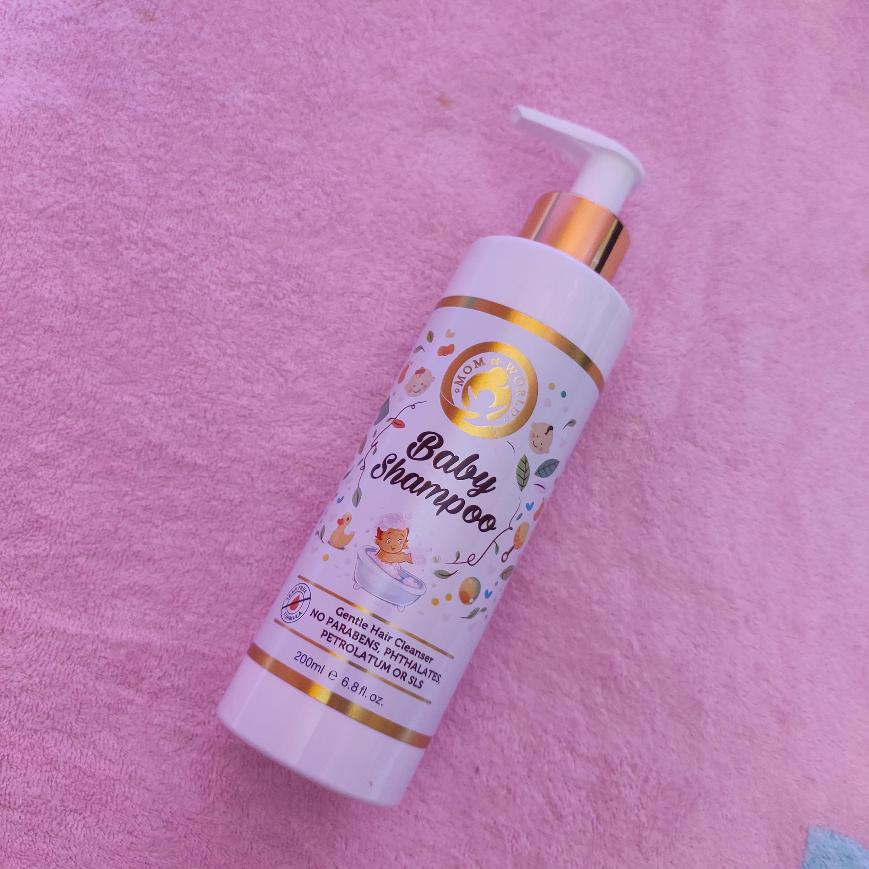 Mom & World Tear Free Baby Shampoo-Worth trying-By suzzenne