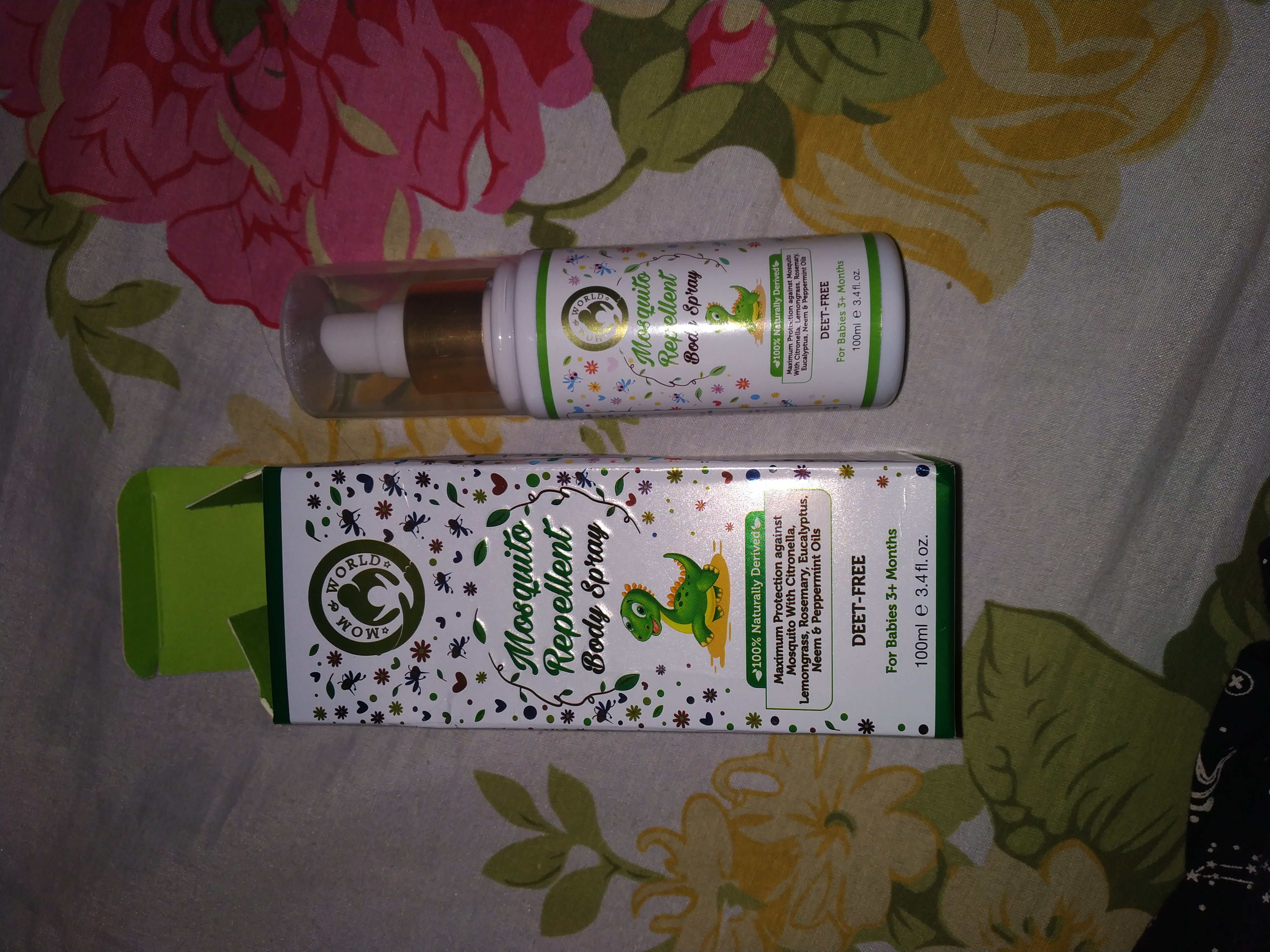 Mom & World Baby Mosquito Repellent Body Spray-Very effective and easy to use-By sunaina_verma