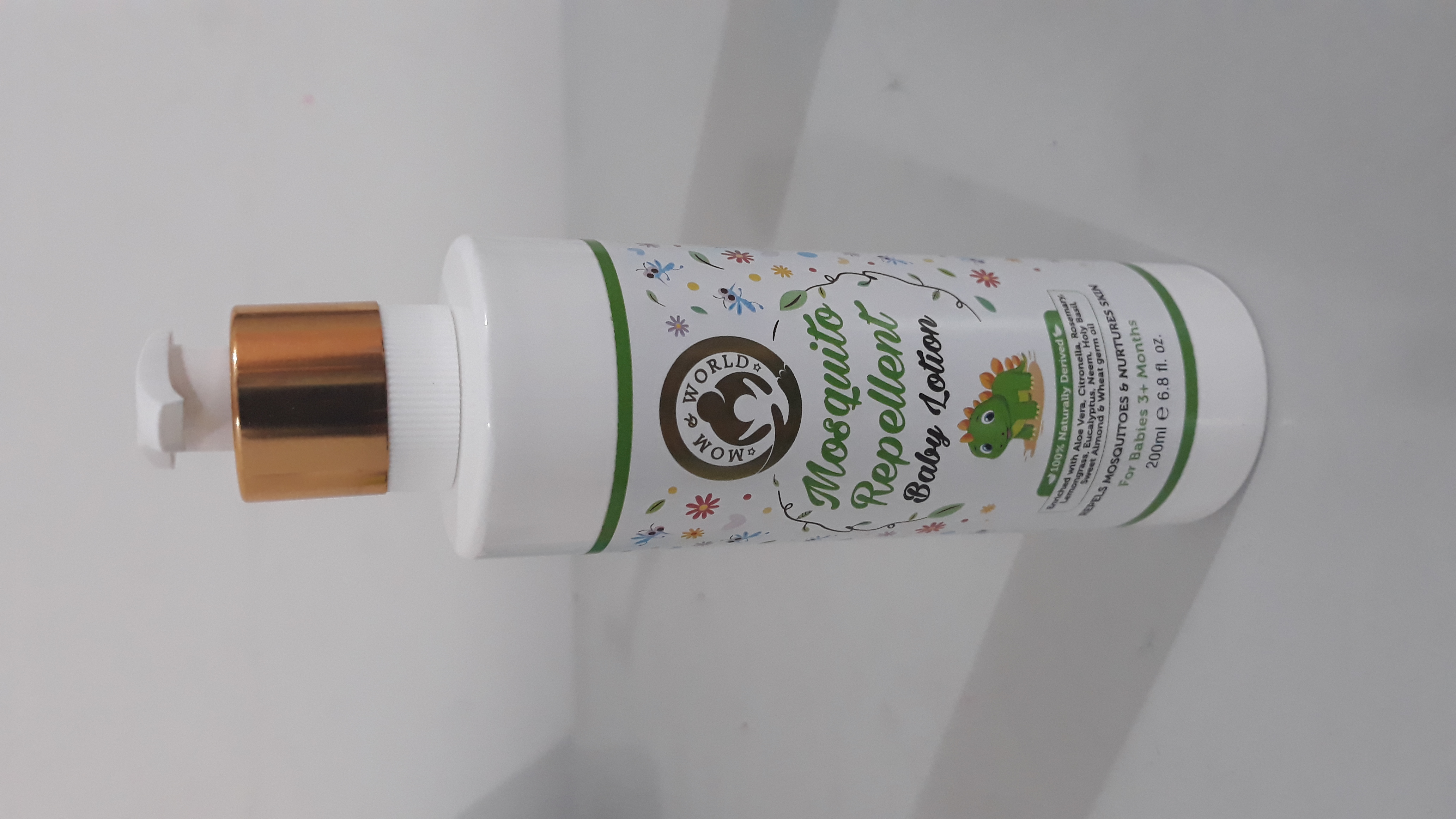 Mom & World Baby Mosquito Repellent Baby Lotion-Really effective-By varshika