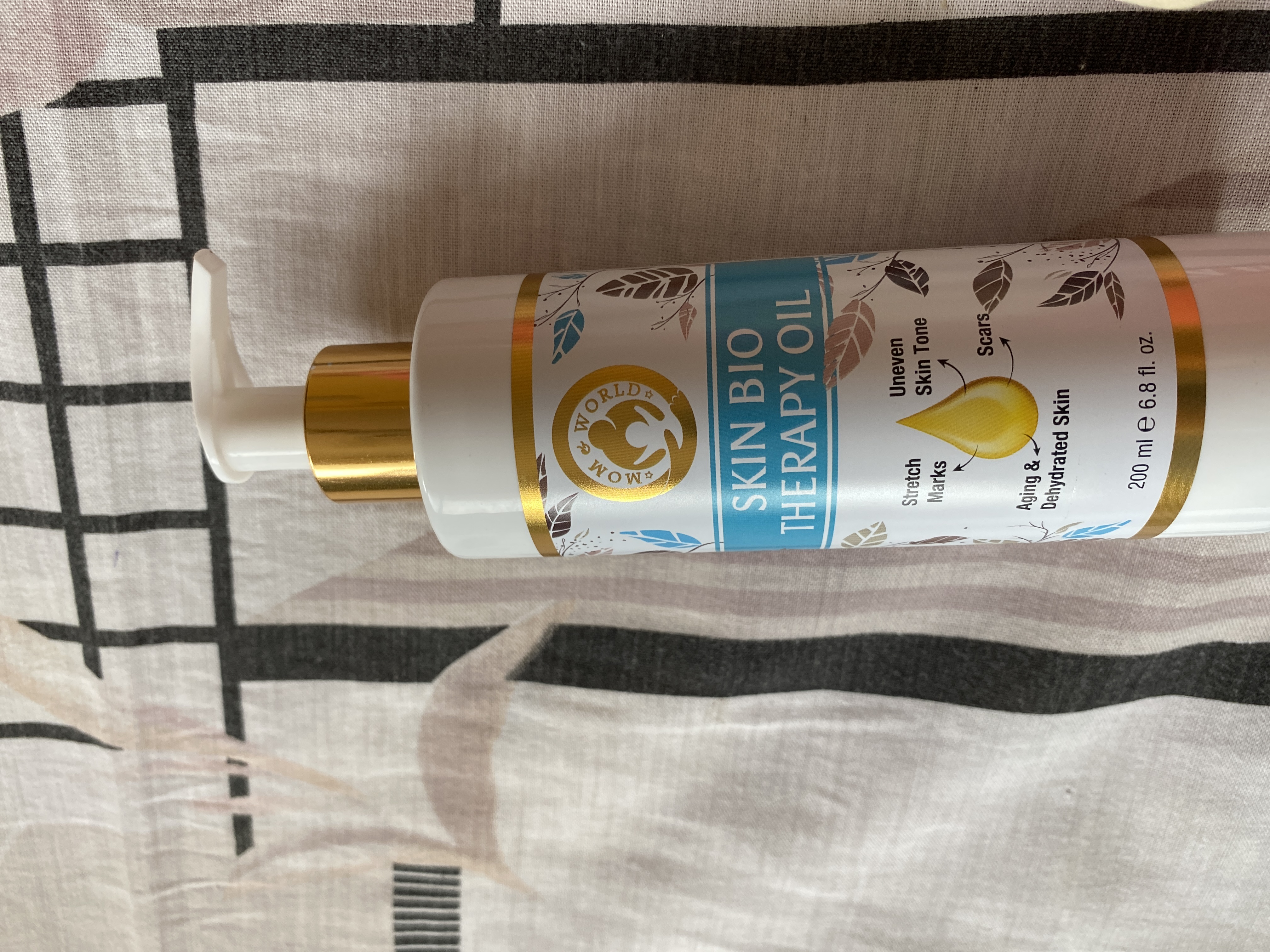 Mom & World Skin Bio Therapy Oil-One of the best stretch mark oil-By sayma