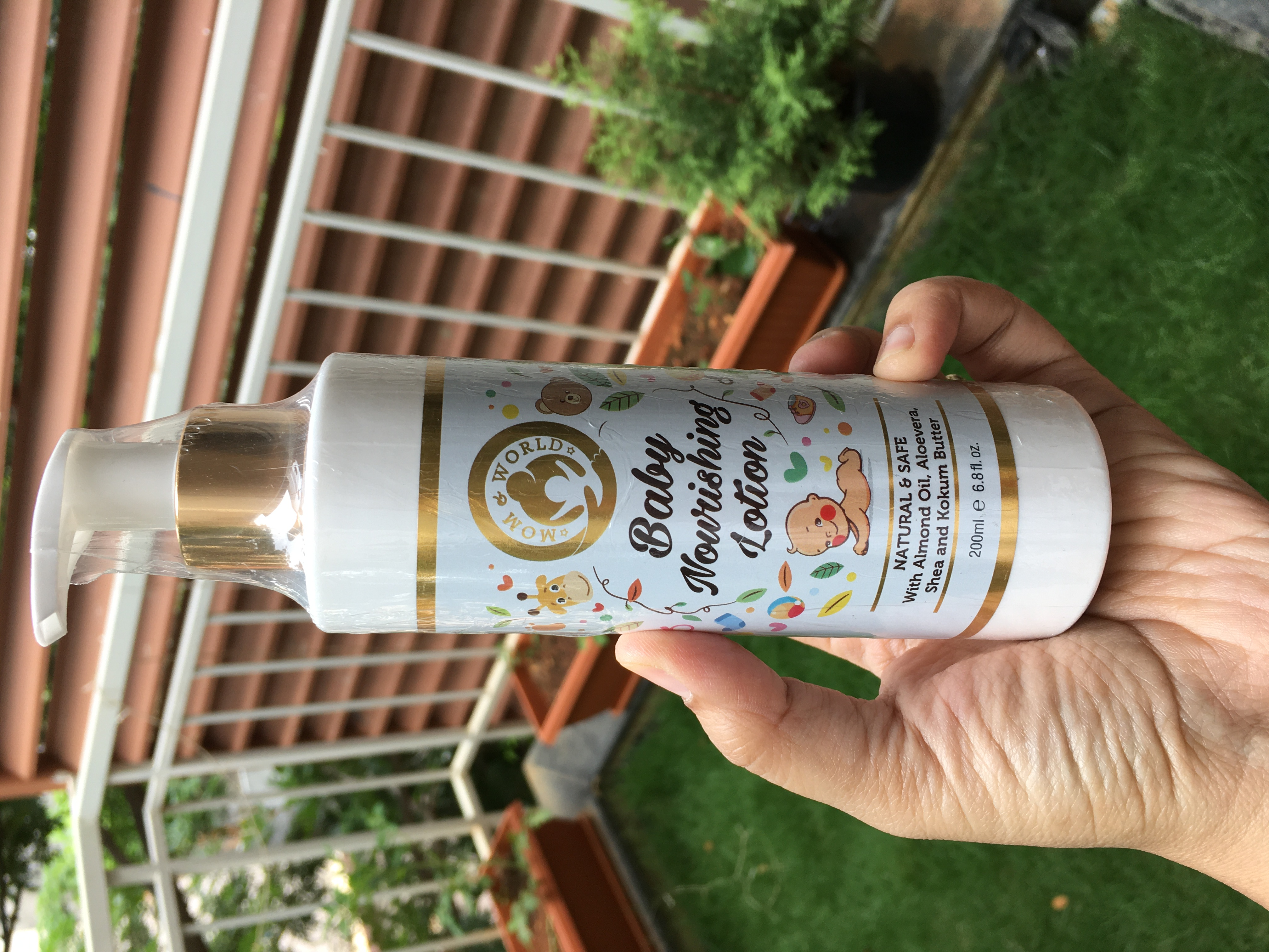 Mom & World Baby Nourishing Lotion-Must have for dry skin kids-By mummaofthor