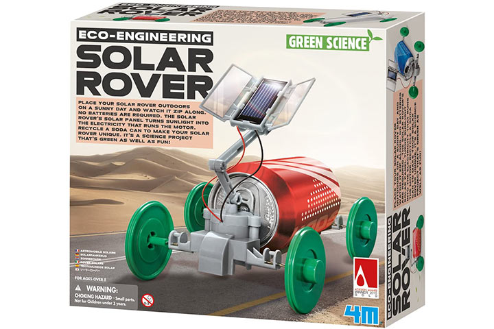 4M 3782 Green Science Solar Rover Kit