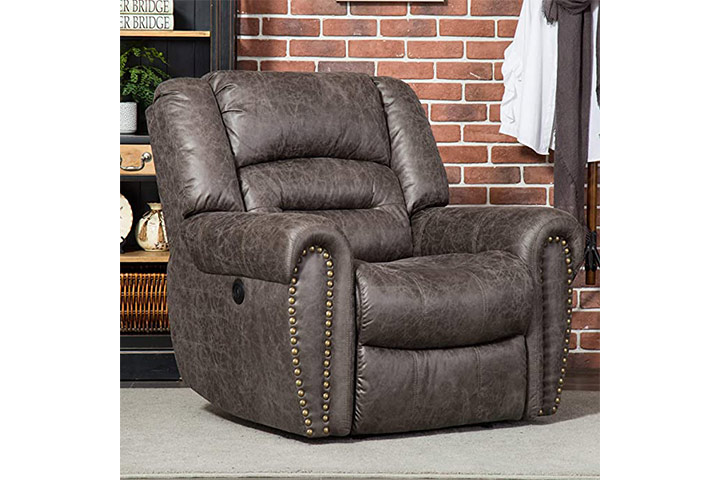 ANJ Electric Recliner Chair WBreathable