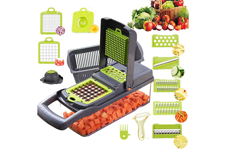 Alrens Vegetable Chopper and Mandoline Slicer