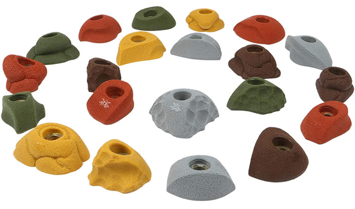 Atomik Climbing Holds 21 Classic Pack