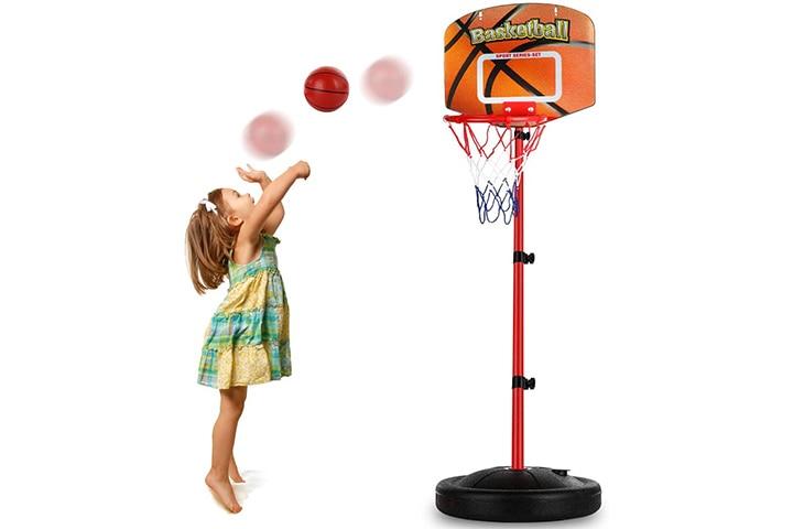 Auggie Basketball Hoop For Kids
