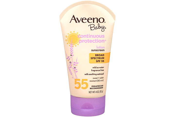Avino Baby Continuous Protection Sunblock Lotion