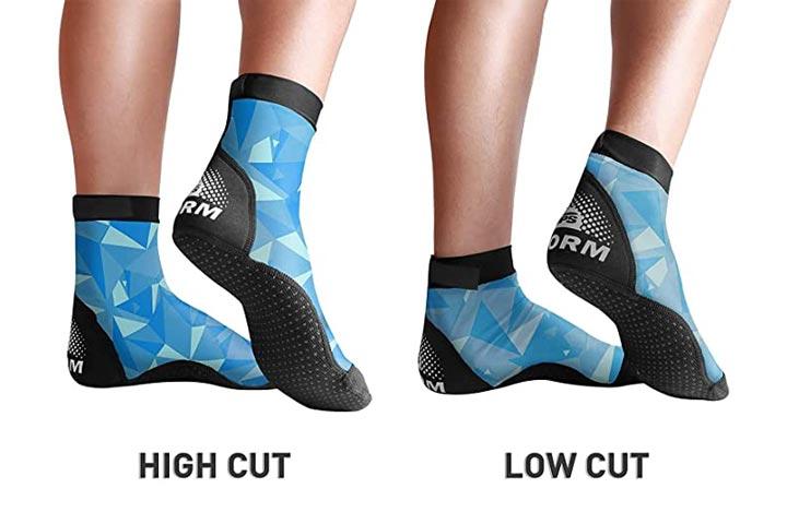 BPS Second Skin Lycra Fin Socks