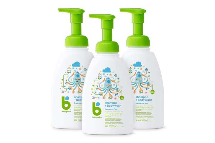 Babyganics Baby Shampoo Body Wash