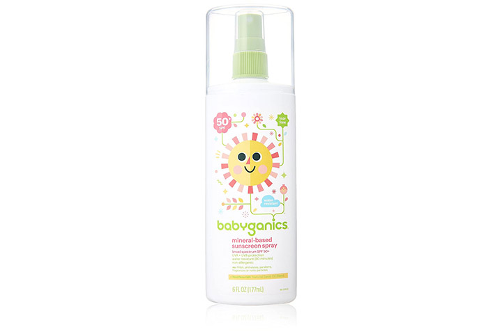 Babyganics Mineral Based Sunscreen Spray