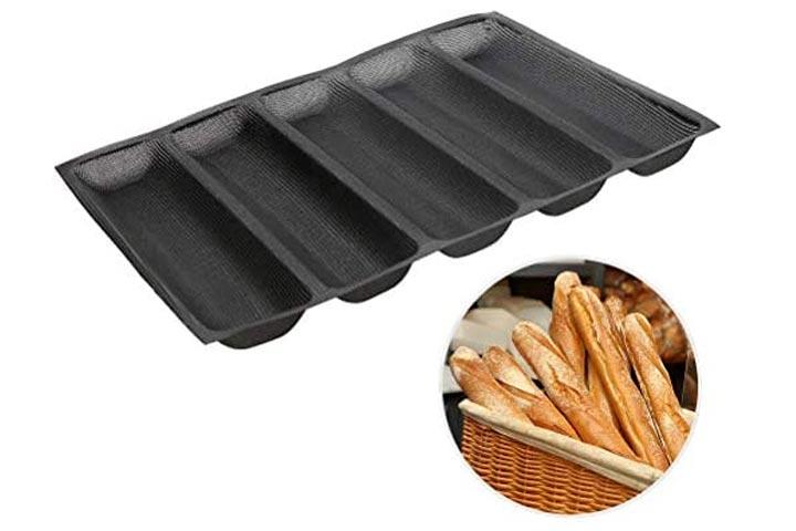 Baker Boutique Silicone Baguette Pan