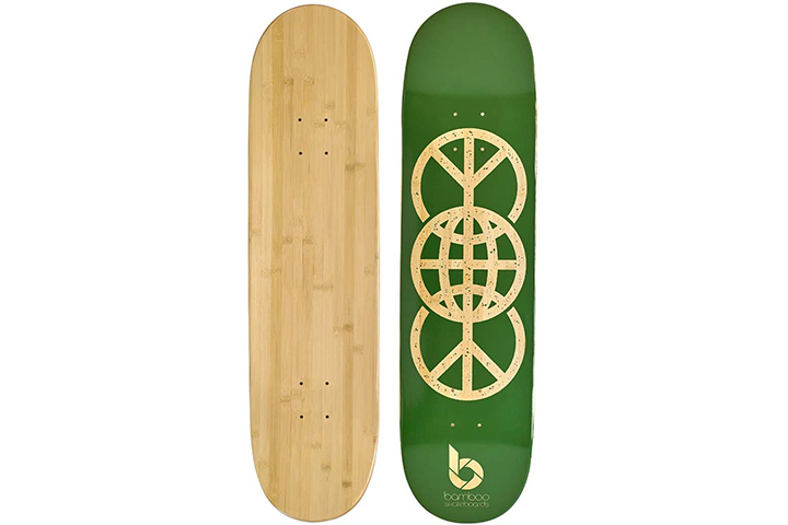 Bamboo Skateboards Graphic Skateboard Deck