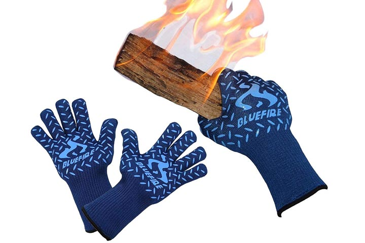Barbeque Grill Gloves by BlueFire Gloves