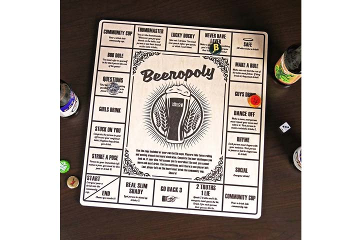Beeropoly Beer Drinking Game