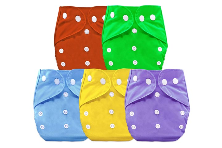 Bembika B Plus Solid Cloth Diapers