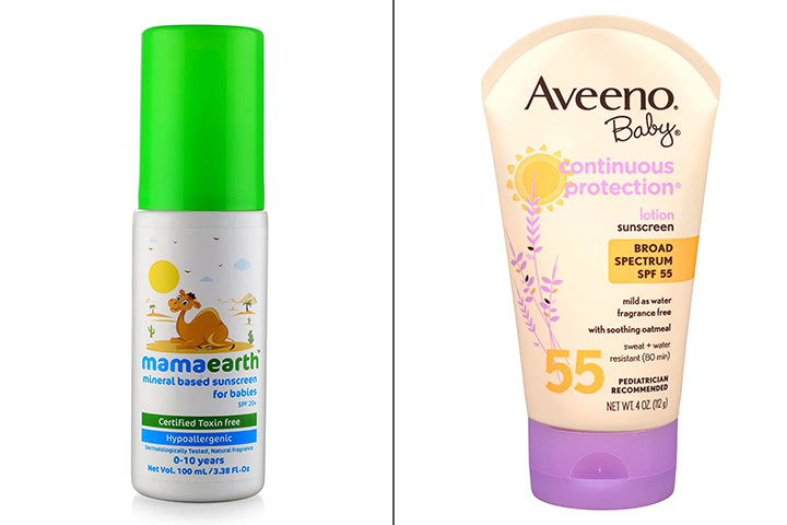 Best Baby Sunscreen Lotion To Buy In India