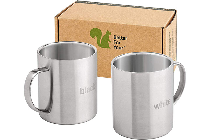 Better For You Stainless Steel Camping Mug