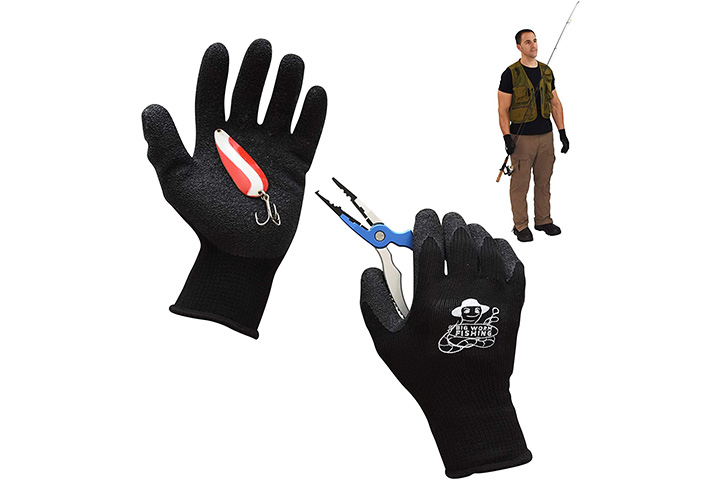 Big Worm Fishing, Fishing Gloves