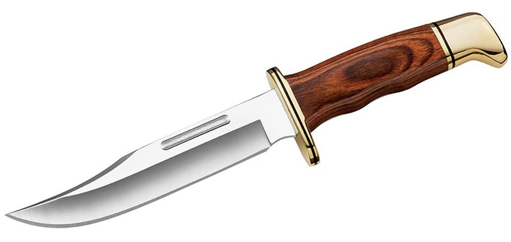 Buck knives 119 with leather Sheath