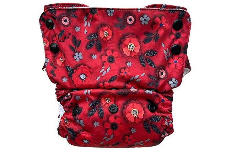 Bumpadum Duet Stay-Dry Reusable Cloth Diaper
