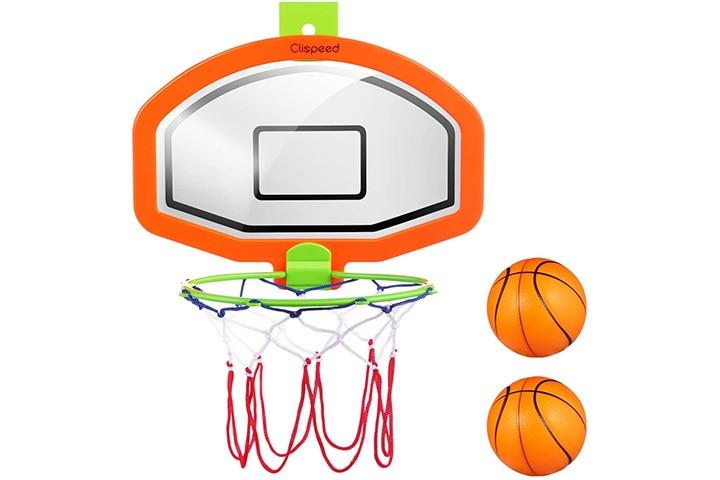 CLISPEED Kids' Mini Basketball Hoop