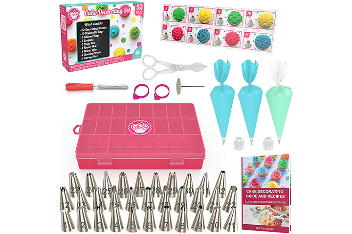 Cakebe Cake Decoration Supplies Kit