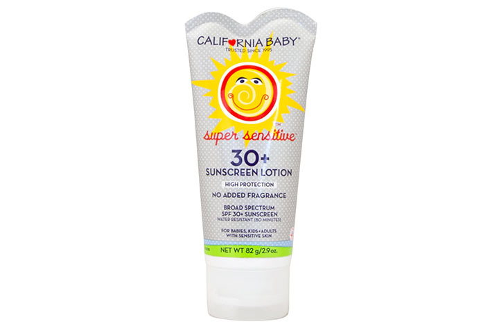 California Baby SPF 30 Fragrance Free Sunscreen