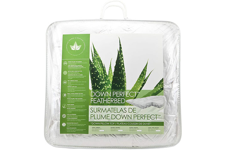 Canadian Down & Feather Company Down PerfectTM Featherbed