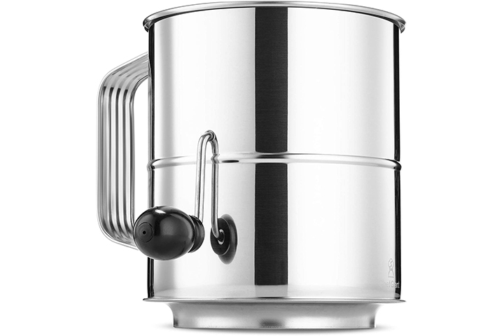 ChefGiant 8 Cup Flours Sifter With Rotary Hand Crank