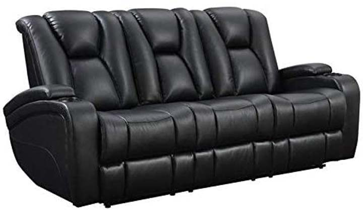 Coaster Home Furnishings Delange Reclining Power Sofa