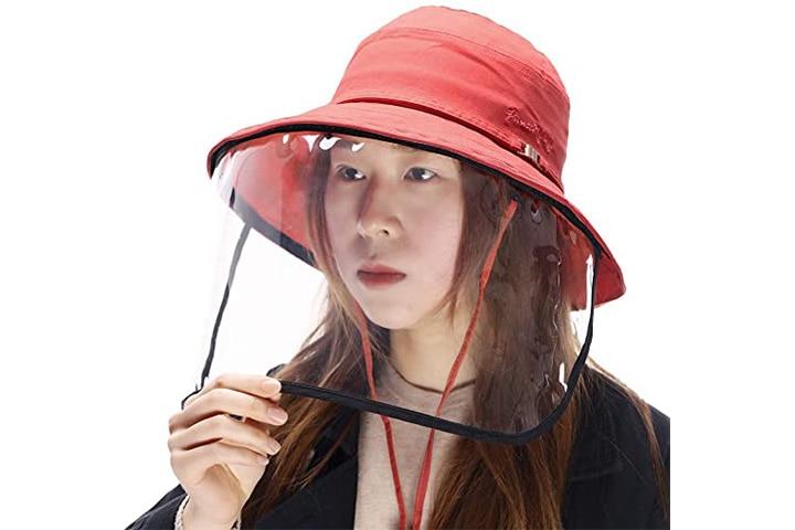 Comhats Siggi Women's UPF50+ Sun Hat With Face Shield