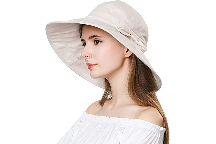 Comhats UPF50 Cotton Packable Sun Hat