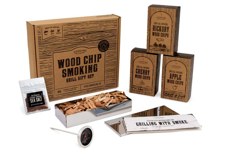 Cooking Gift Set BBQ Smoker Box Set